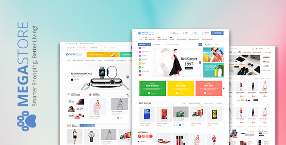 Mega Store - WooCommerce WordPress Theme - Zim Templates