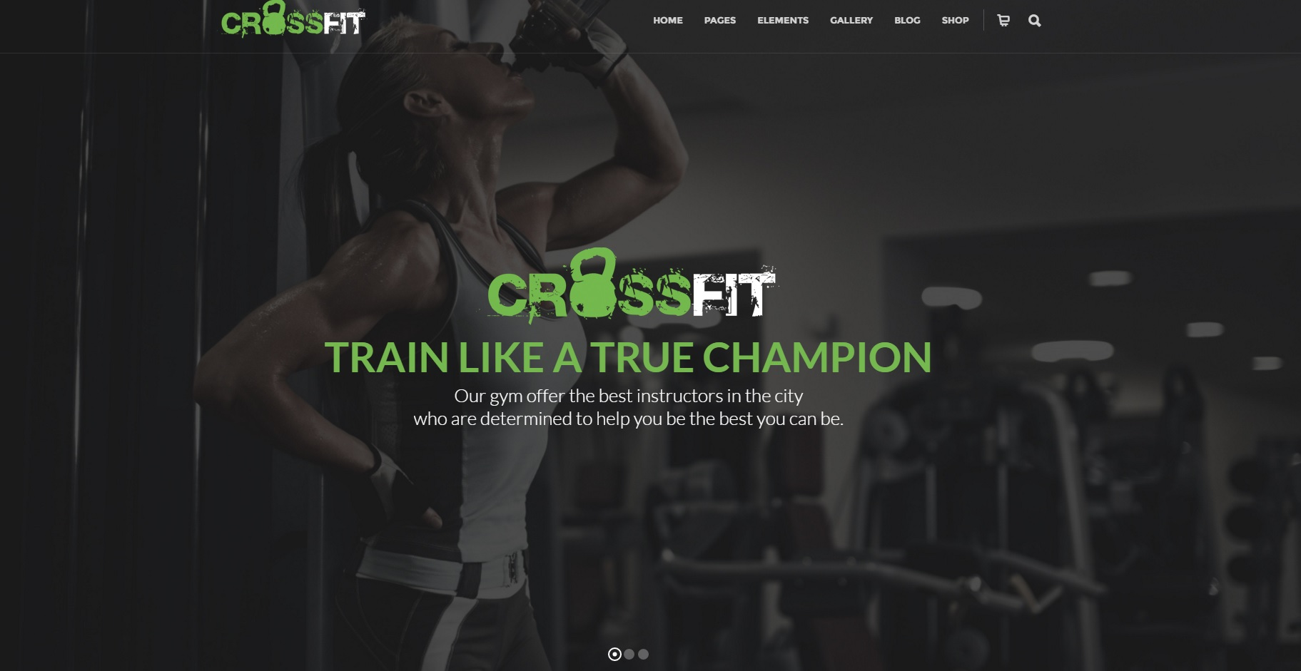 cross fit gym fitness wordpress template zim templates