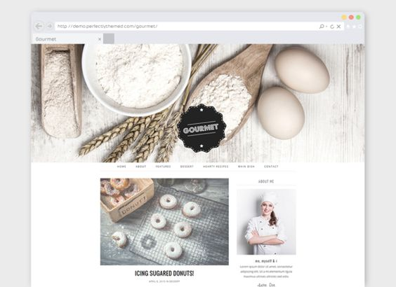 Cooking WordPress Theme Gourmet