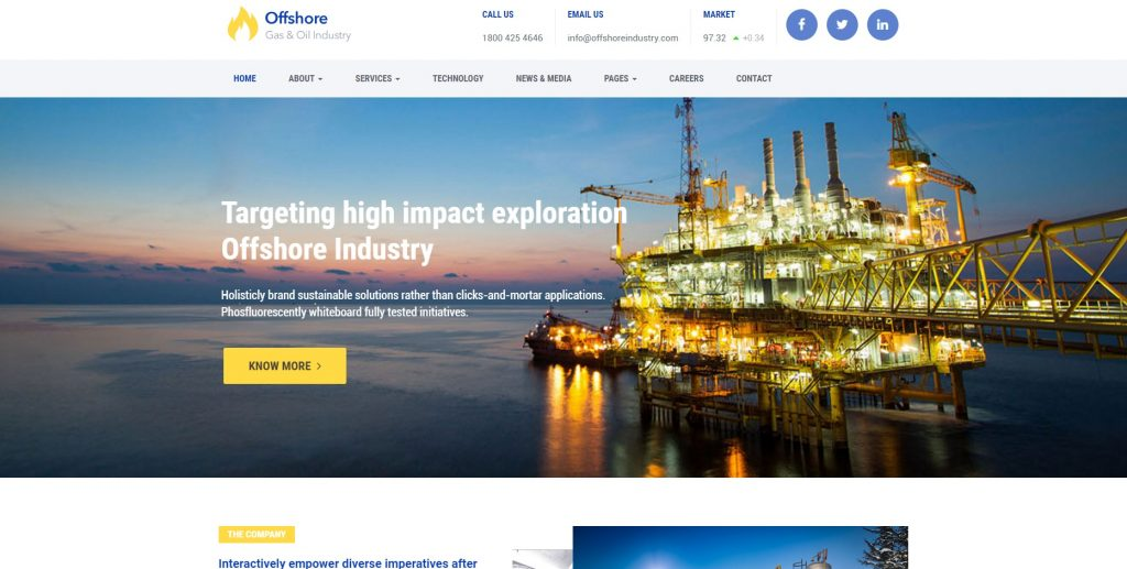 industrial-business-wordpress-template