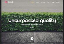 Stone WordPress Theme