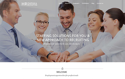 Recruiting WordPress Theme