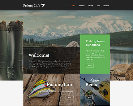 Fishing Club WordPress Theme