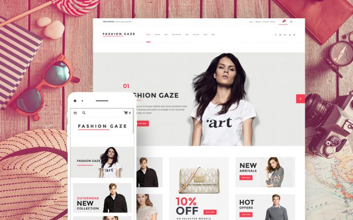 High Fashion Online Store Built With WordPress