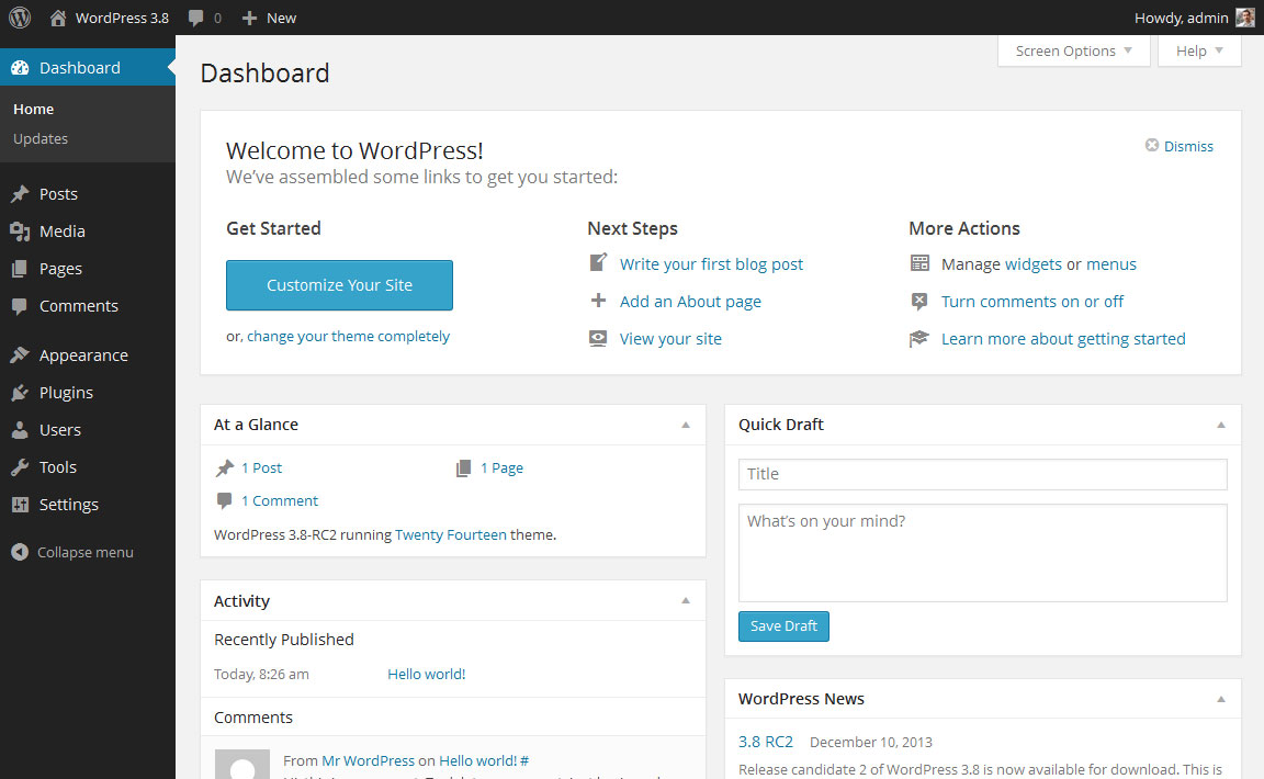How To Enable/Disable Comments with WordPress Blogging Themes from ...