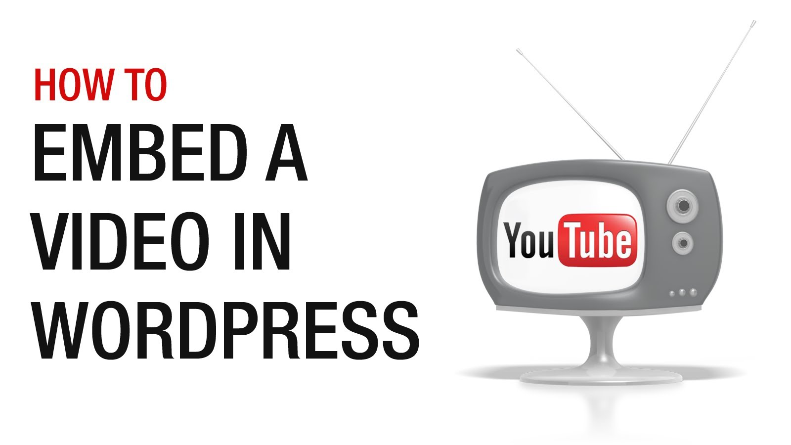 How to embed videos in wordpress posts wordpress for Embed a forum into your website
